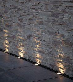 Exterior Stone Wall Lights : Stone Veneer on Pinterest Vinyl Shake Siding, Stone Veneer Fireplac?