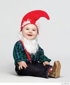Cute baby gnome