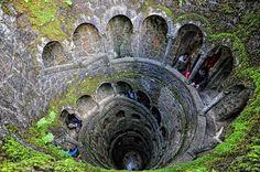 Quinta da Regaleira - Sintra, Portugal - from the inside