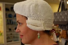Variation on traditional powdered wig
