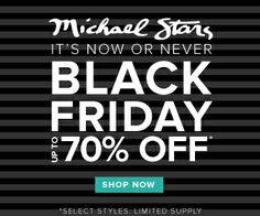 Michael Stars Black Friday sale up to 70% off