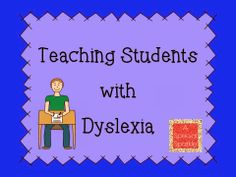 EXCELLENT post with simple, do-able, understandable tips for teaching kids with #dyslexia!