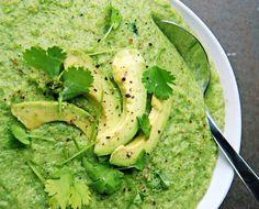 The Body Book's Broccoli Avocado Soup