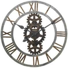 "Howard Miller Crosby 30"" Wide Wall Clock"