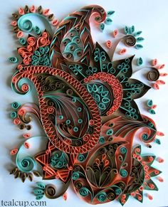 Quilling Gallery - tealcup