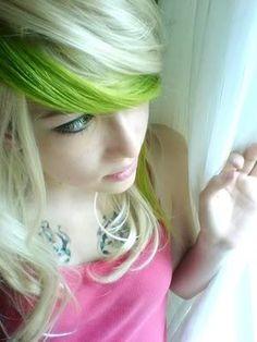 lime-green-streak