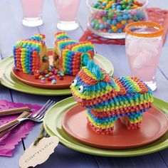 Mini Pony Pinata Cak