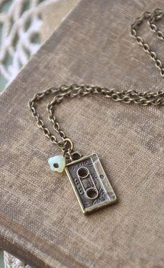 little mixtape necklace