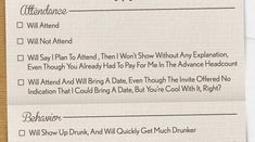 This Brutally Honest And Hilarious Wedding Invitation Will Make Your Day