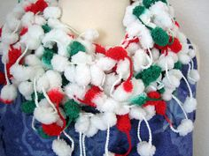 Holiday Accessories New  Soft hand crocheted Christmas  by DEMET, $14.00
