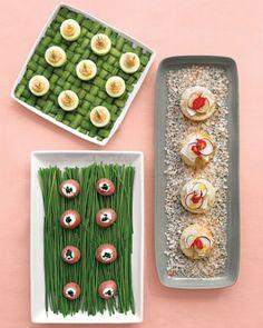 Salmon-Mousse Cucumber Cups Recipe