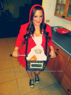 Last-Minute Elliot and ET Costume for Girls… Coolest Halloween Costume Contest