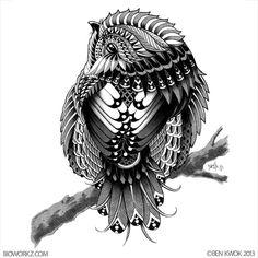 Chickadee by BioWorkZ.deviantart.com on @deviantART