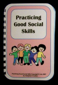 Social Skills Social Story -  great for kids on the Autism Spectrum