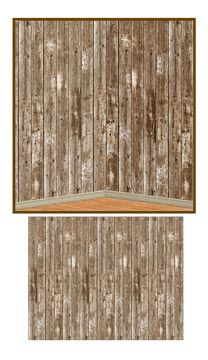 Western Theme Party - Barn Siding Backdrop (1/Pkg) - Wholesale Party ..., 208x360 in 18.3KB