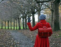 Red satchel!