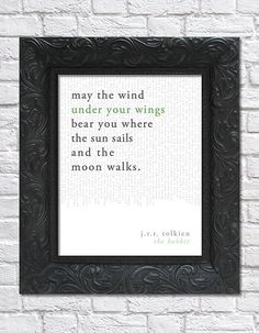 Hey, I found this really awesome Etsy listing at https://www.etsy.com/listing/166767807/literary-art-print-book-quote-the-hobbit
