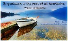 Expectation Quote expect, wisdom quotes