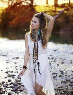 #Hippie Style ?  Chiffon Blouse #2dayslook #fashion #nice #ChiffonBlouse  www.2dayslook.com