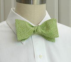 groomsmen idea, white pin, pin dot, men bow, bow ties, 2700, bows, lime, dots
