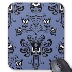 Haunted Hallway Mansion Wallpaper Mousepad