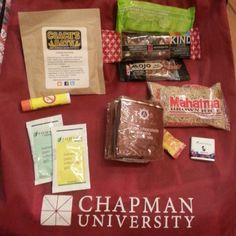 @chapmanuniversity5k swag bag includes Coach's Oats! Thank you for posting @KreativeHaus