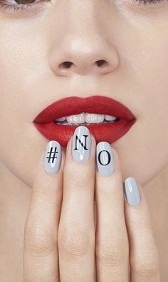 Let your nails do the talking