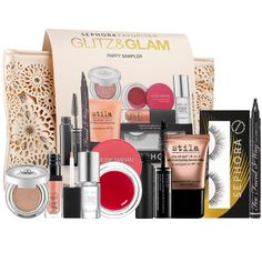 New at #Sephora: Sephora Favorites Glitz & Glam― a day-to-night makeup collection featuring 8 of our most glamorous items and a chic clutch. #makeup #gifts #giftsets