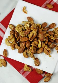 Barbecue Roasted Mixed Nuts [recipe]