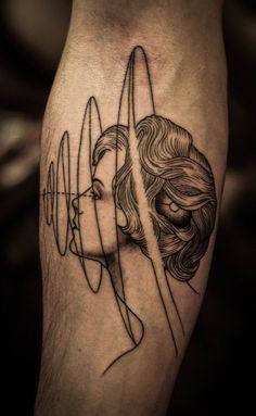 portrait tattoos, tattoos of hands, tattoo ink