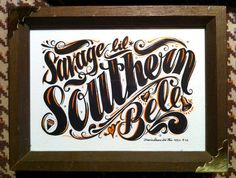 southern girl, savages, lil southern, font, southern bell