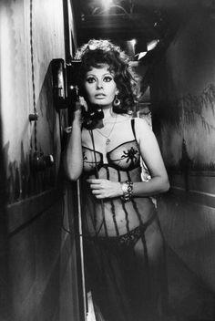 Sophia Loren by Alfred Eisenstaedt, 1964