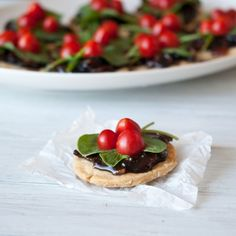 Loving these ---> BLT Mini Tarts With Bacon Jam from @domesticfits