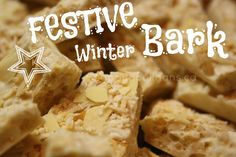 festive winter bark - no bake, easy to make.  It's a holiday favourite in our house!