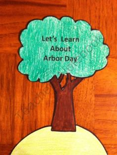 Arbor Day Book from Melissas Corner on TeachersNotebook.com (7 pages)