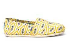 TOMS collaboration with Jonathan Adler; how cute for spring.