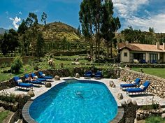 The Peruvian Andes have recently been crowned with luxurious retreats like this Las Casitas del Colca, a remote Orient-Express outpost in Colca Canyon, which is twice as deep as the Grand Canyon.