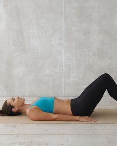 -Crunches are not enough: These six moves target your deep abdominal muscles -- to keep your whole system looking & feeling beautifully balanced.