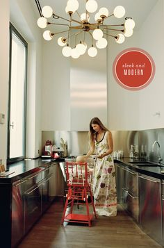 Small Spaces: Contemporary Kitchen Design