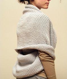 infinity shawl