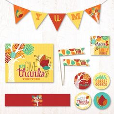 Grateful Tree Party Kit | Hostess Ink (not free)