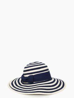 stripe sun hat - kate spade new york