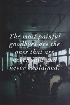 goodbye:(