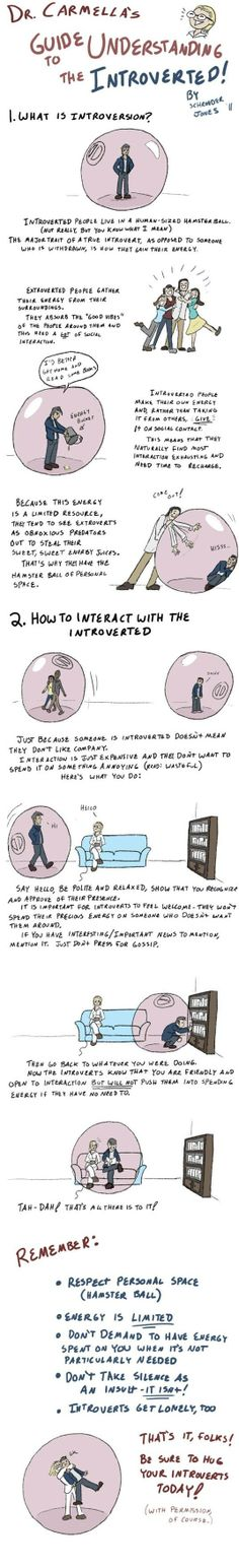How to interact with the introverted... - One Stop Humor: Funny Pictures and Videos!