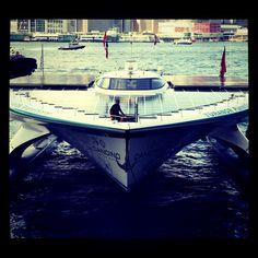 Planet Solar arrives Harbour City