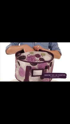 New fall 2014 Thirty-One item!! Around We Go Thermal!