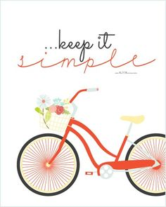 keep it simple printable