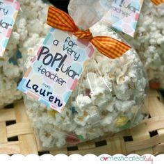 teacher gifts, popular teacher, gift ideas, teacher appreciation gifts, diy gifts, handmade gifts, gift tags, hand made, parti