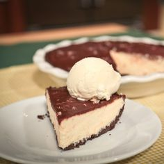 Chocolate Peanut Butter Pie from Carla Hall on the Chew