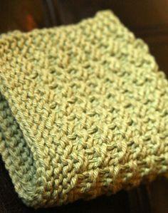 Knitting Pattern PDF Dishcloth Pattern by DishclothDivaKnitsOn